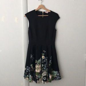 NWOT Ted Baker Little Black Gem Dress